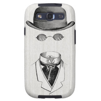 Invisible Man Vintage Galaxy case Galaxy SIII Covers
