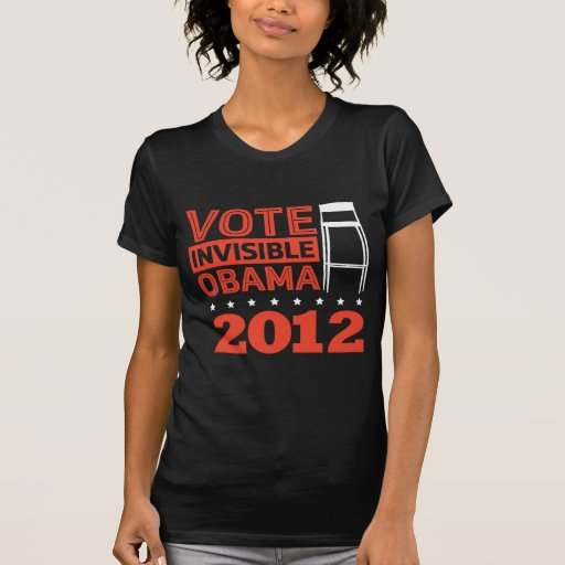 Invisible Obama T Shirt