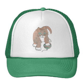 Invisible Ornament... Kitten only Wishes Trucker Hat
