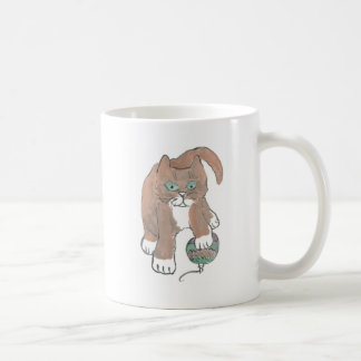 Invisible Ornament Kitten only Wishes Coffee Mug