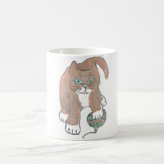 Invisible Ornament Kitten only Wishes Mug