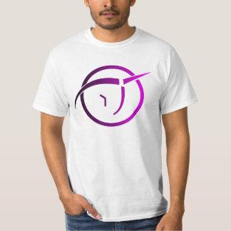 Invisible Pink Unicorn Logo Tee Shirts