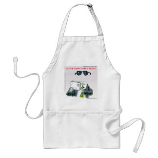 Invisible Selfie Funny Adult Apron