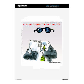Invisible Selfie Funny Decals For The iPad 2