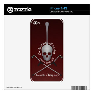 Invisible Decal For iPhone 4