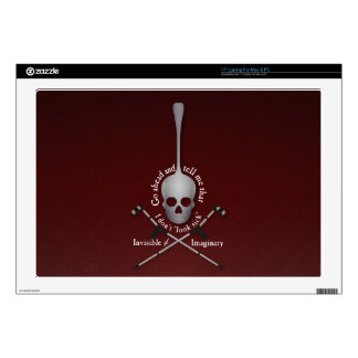 """Invisible 17"""" Laptop Decal"""