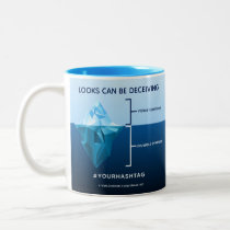 Invisible Symptoms Awareness Two-Tone Coffee Mug