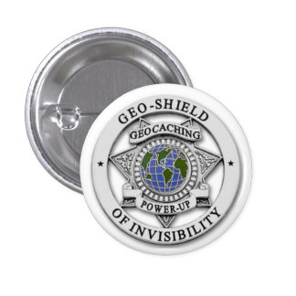 Invisible TO Muggles! Pinback Button