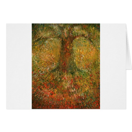 Invisible Tree Greeting Card