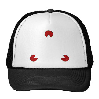 Invisible Triangle Optical Illusion Trucker Hat