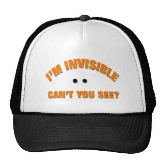 Invisible Trucker Hat