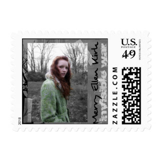 Invisible War Postage Stamp