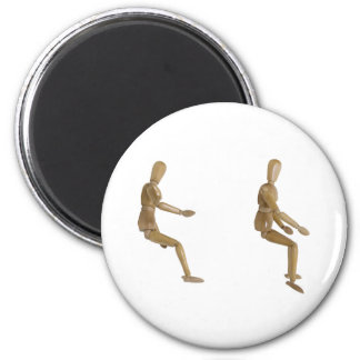 InvisibleBicycle060509 2 Inch Round Magnet