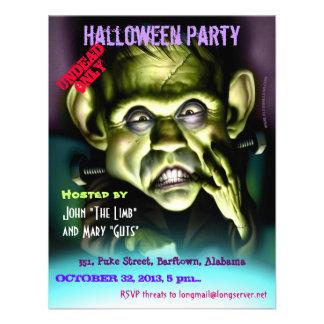 Invitación 002 de Halloween