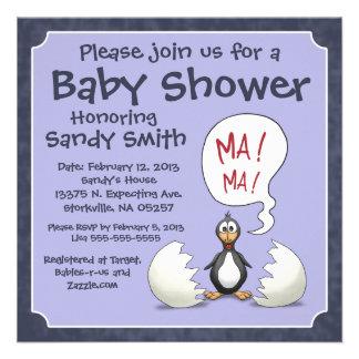 Invitación 107 de la fiesta de bienvenida al bebé