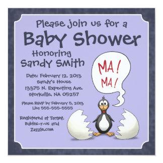 Invitación 107 de la fiesta de bienvenida al bebé: