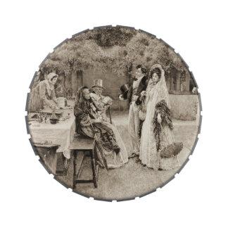 Invitación 1898 del compromiso