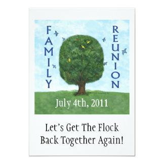 Invitación 2011 de la reunión de familia con el