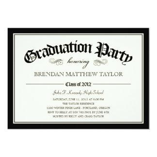 Invitación 2012 de la fiesta de graduación del