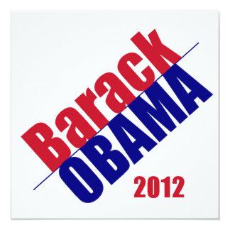 Invitación 2012 de Obama