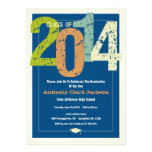 Invitación 2014 de la fiesta de graduación de la d