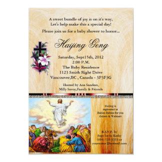 Invitación 24 de la fiesta de bienvenida al bebé