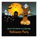 Invitación 2 de Halloween del cementerio del RASGÓ