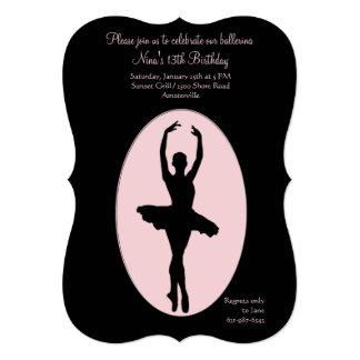 Invitación #2 de la bailarina del lugar central