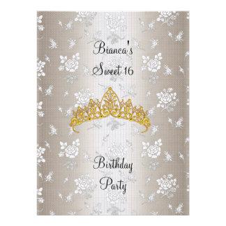 Invitación 2 de la fiesta de cumpleaños del dulce