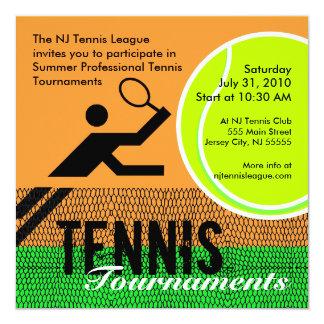 Invitación 2 de los torneos de tenis