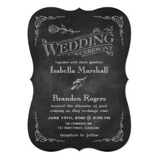 Invitación 2 del boda de la pizarra