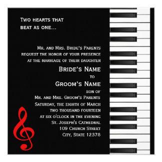 Invitación 2 del piano
