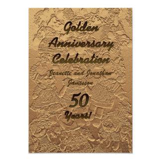 Invitación 2Sided de la fiesta de aniversario del Invitación 12,7 X 17,8 Cm