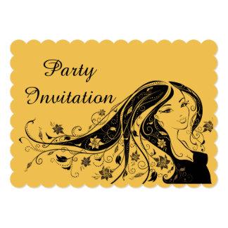 Invitación 3 de la fiesta del cumpleaños de la