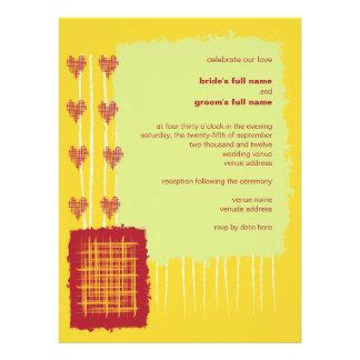Invitación 3 del boda del limón del chile