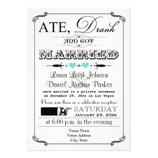 Invitación 3 del boda del poster y de la pizarra d