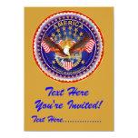 """Invitación 4,5"""" x 6,25"""" América no olvidada…. Invitación 11,4 X 15,8 Cm"""