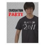 Invitación 4 del fiesta de la graduación 2011 del