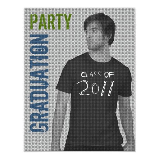 Invitación 5 del fiesta de la graduación 2011 del