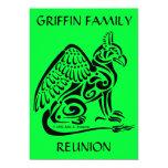 Invitación 5x7 de Gryphon