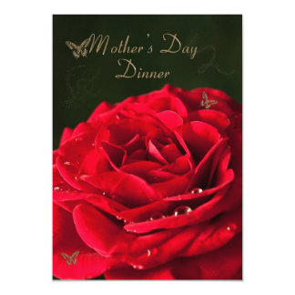 Invitación a una cena del día de madre
