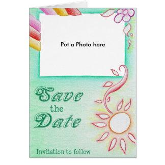 Invitación abstracta especial del boda felicitación