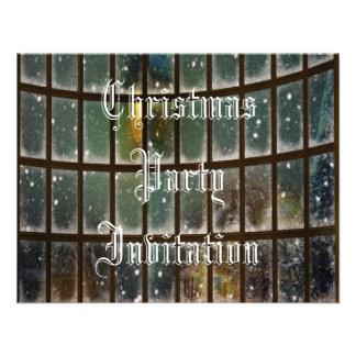 Invitación acogedora del navidad