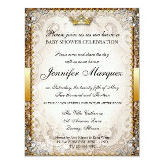 Invitación adornada de la fiesta de bienvenida al