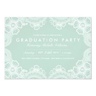 Invitación agraciada del fiesta del graduado del