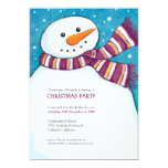 Invitación alegre de la fiesta de Navidad de los