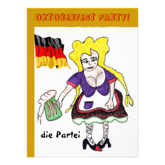 Invitación alemana del fiesta de la cerveza de