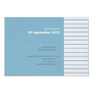 Invitación Amara de la tarjeta de RSVP del Invitación 8,9 X 12,7 Cm