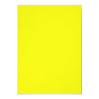 Invitación amarilla de neón brillante