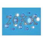 Invitación - Año Nuevo (cualquier año) Invitación 12,7 X 17,8 Cm